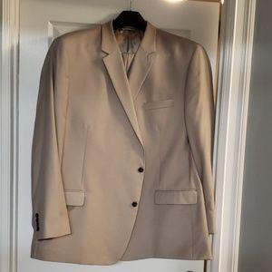 Mens Tan Suit 56L